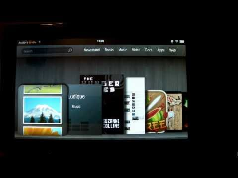 How To Load Music, Books and Video on the Kindle Fire