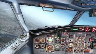 FSX 727 Cappy Flight 524 KSTL - KMCI