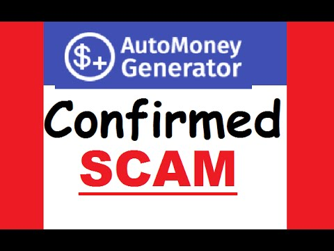 Auto Money Generator SCAM Exposed!! Real Software Review!