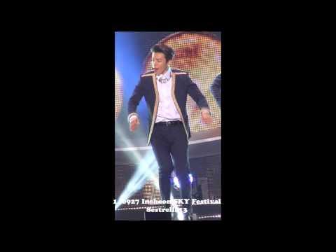【Donghae Fancam】140927 Incheon SKY Festival ~shirt~ Super junior