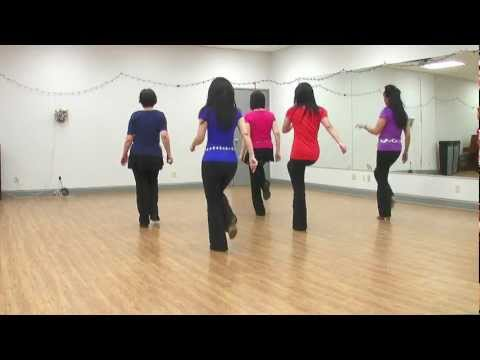 Tango De Pasion -  Line Dance (dance & Teach In English & 中文) video