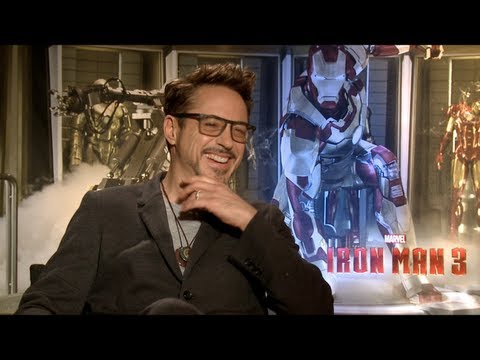 IRON MAN 3 Interviews: Robert Downey Jr, Gwyneth Paltrow, Ben Kingsley, Don Cheadle and Guy Pearce