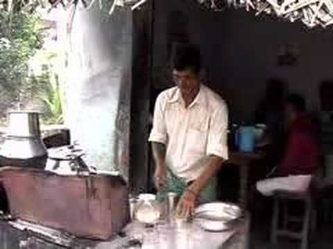 Making Chai in India