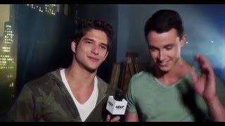Teen Wolf cast - scariest moment on set