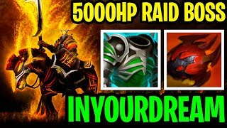 5000HP RAID BOSS ILUSIONS!! - Chaos Knight Inyourdream - Dota 2