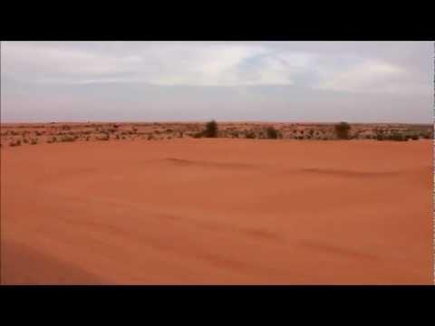 Landscape alongside road Aleg-Nouakchott, Mauritania
