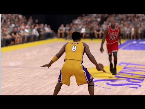 NBA 2K17 Michael Jordan Vs. Kobe Bryant!