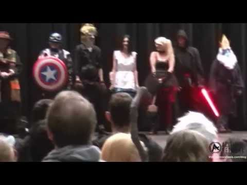 Forest City Comicon: October 19, 2014 - Two CosPlay Contests