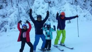 YONGPYONG RESORT. FAMILY SKI TOUR. KOREA SKI TRAVEL  Michael KWON SKI INSTRUCTOR