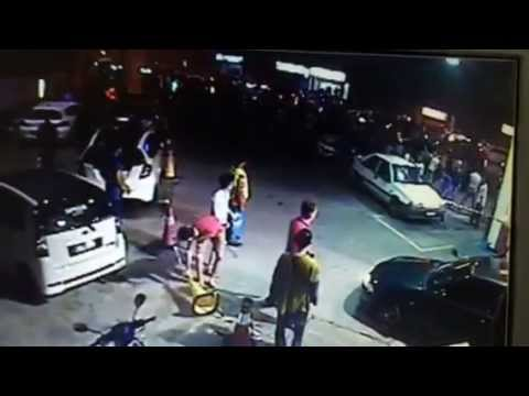 Rusuhan di Shell Lundang, Kota Bharu Kelantan