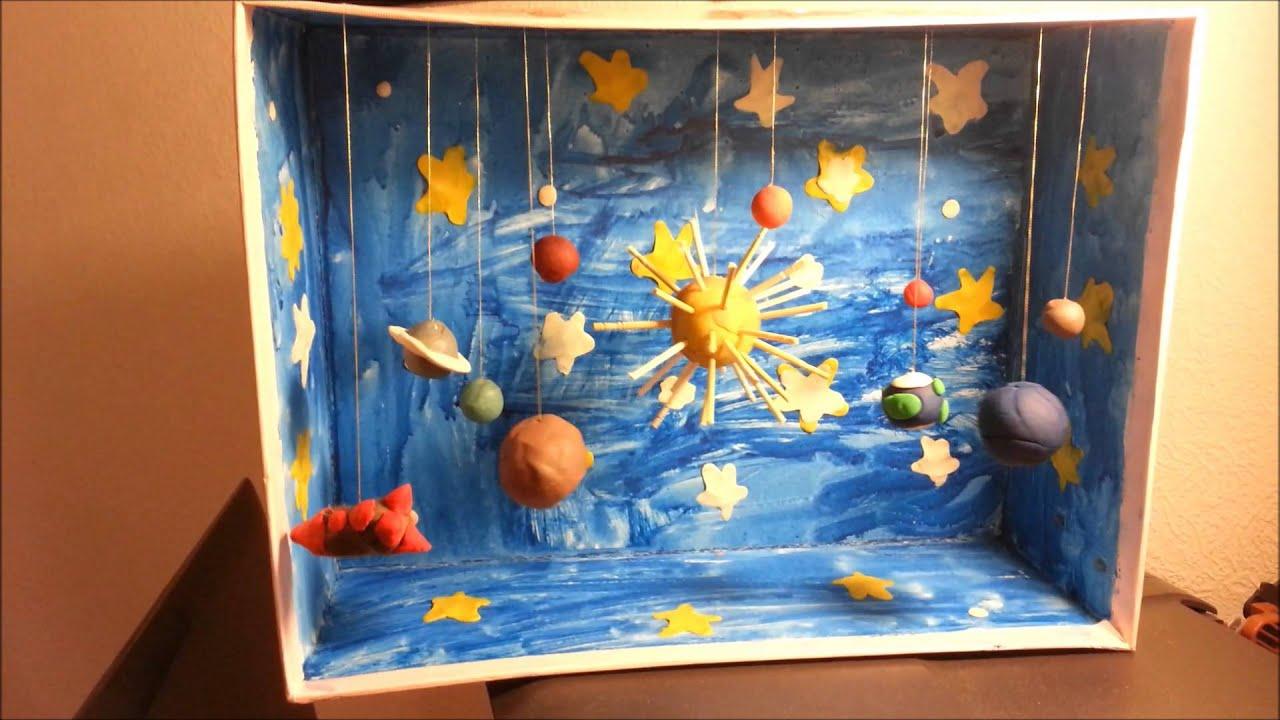 Поделки в сад на тему космос 56