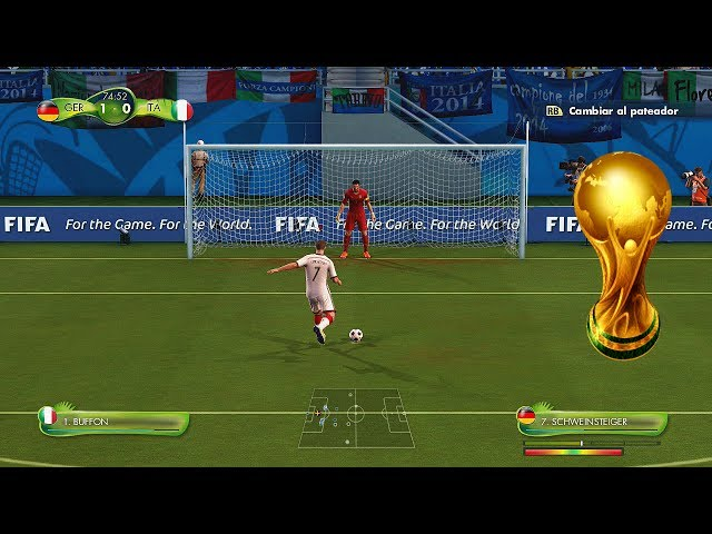 2014 Fifa World Cup - Jugando el mundial Online - Termina la fase de Grupos Gameplay Xbox 360