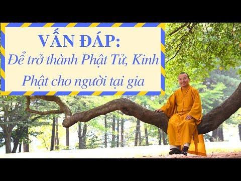 Vấn đáp: Để trở thành Phật Tử, Kinh Phật cho người tại gia