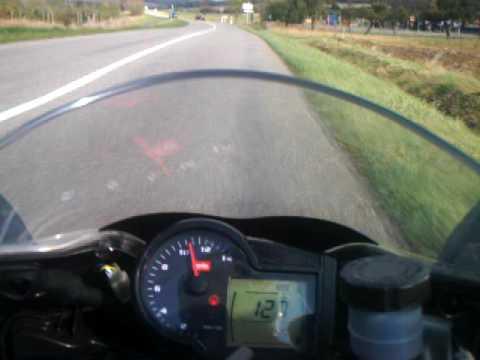 Aprilia RS 125 onboard