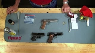 Gunsmithing - How to Clean a Semi Auto Pistol Presented by Larry Potterfield of MidwayUSA