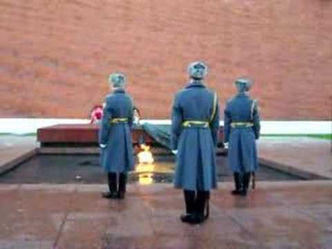 Changing of the Guard- Kremlin, Moscow