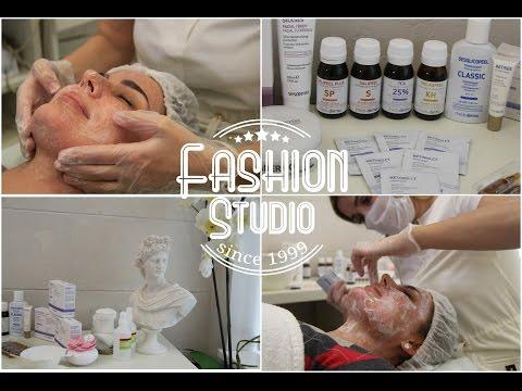 Пилинг кожи лица в салоне красоты Fashion Studio