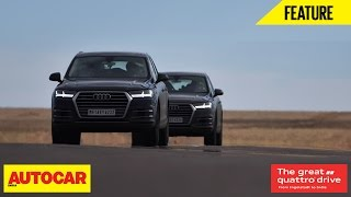 Great Quattro Drive | Germany To India | Episode 02 | Autocar India