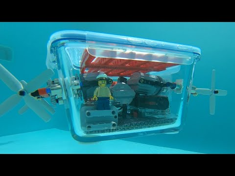 Building a Lego-powered Submarine 2.0 - magnetic couplings