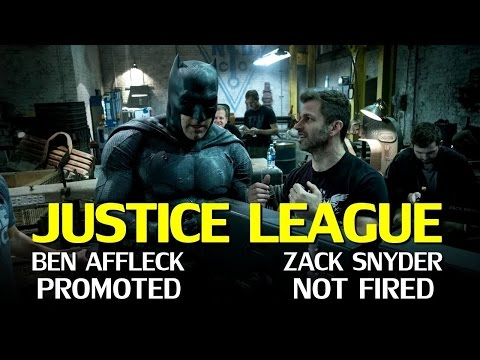 Justice League: Affleck Executive Producer & why Snyder hasn't been Fired