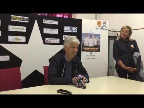 Casale Fbc - Genoa 0-6 Intervista Gian Piero Gasperini