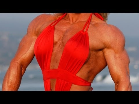 Tina Chandler Female Bodybuilding Interview And Photo Shoot On The Beach With Rob Sims Studios