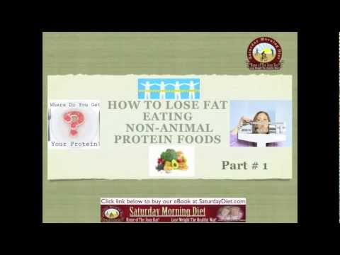 Part #1- How to lose Fat-Eating Non-Animal Protein