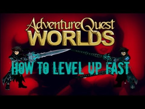 Adventure Quest Worlds How To Level Up Fast 2014