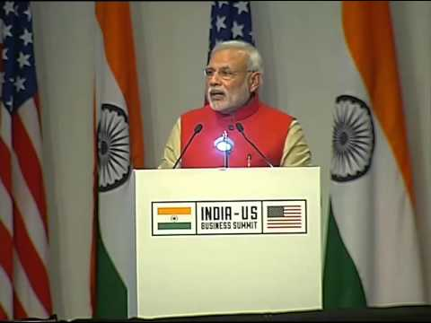 PM Modi's speech at India-US Business Summit