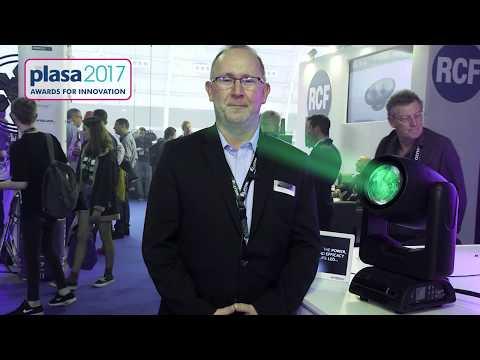PLASA 2017 Awards for Innovation - Elation Dartz 360