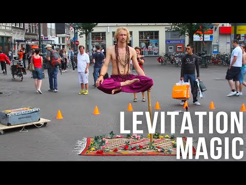 Magician Ramana Impossible Balance (Indian Magic) in Leidseplein, Amsterdam Music Videos