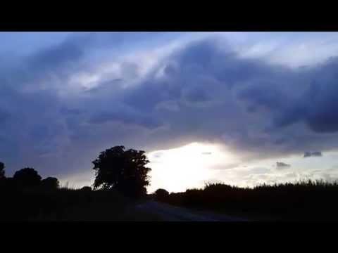 Hurricane Bertha - Dramatic Clouds  over Oxfordshire