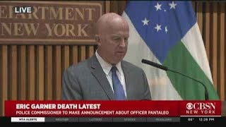 Police Commissioner Announces Officer Daniel Pantaleo Fired