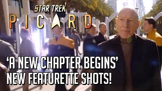 Star Trek Picard A New Chapter Begins CBS Featurette shots!