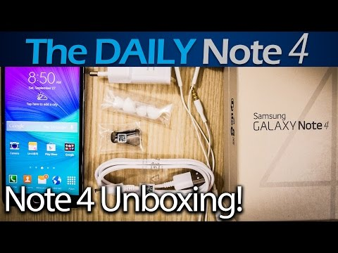 Samsung Galaxy Note 4 Unboxing