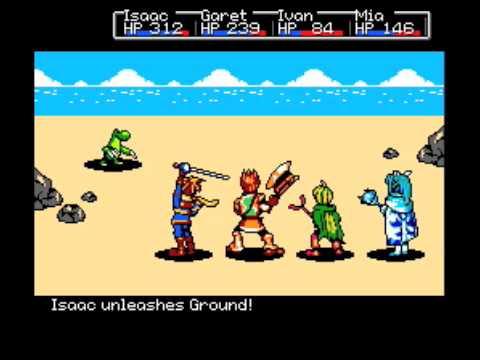 Nintendo - Golden Sun Battle Theme
