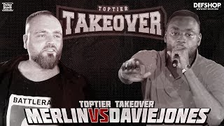 MERLIN vs DAVIE JONES | TOPTIER TAKEOVER MAINMATCH