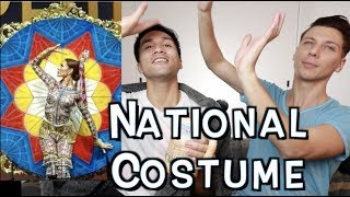 CATRIONA GRAY NATIONAL COSTUME MISS UNIVERSE PHILIPPINES 2018 | NAKAKA LOKA!!