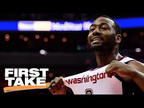 Is John Wall The Best Point Guard In The NBA?   First Take   May 8, 2017