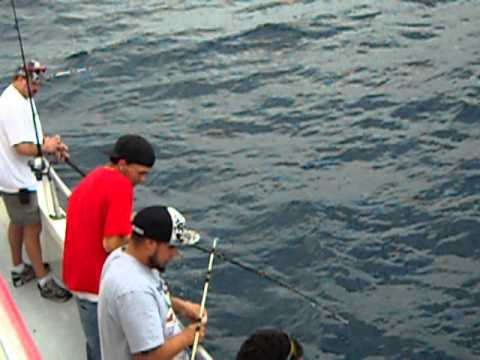 Lady stuart i deep sea fishing party boat stuart fl youtube for Lady stuart deep sea fishing
