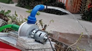How to Make Powerful Water Pump   12V Home Made Pump