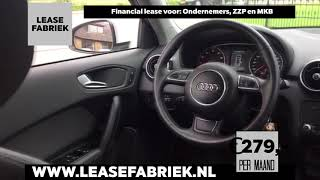 Audi A1 Financial lease via Lease Fabriek