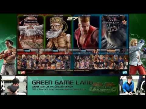 Tekken Tag 2 Unlimited Knee (Bob/Paul/Ogre) vs okay (Wang/Jinpachi)