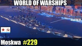 Moskwa - World of Warships gameplay i prezentacja.