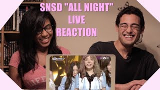 "download lagu Live Reaction Girls' Generation ""all Night"" Comeback Stage gratis"