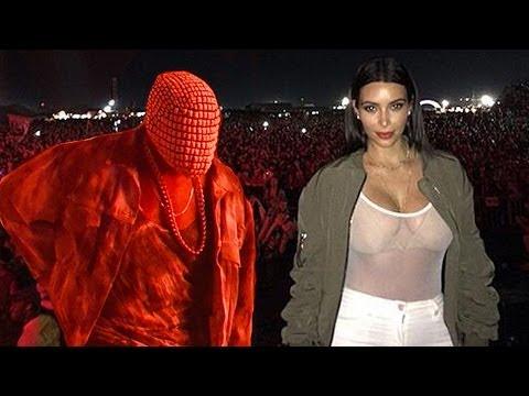 Kanye West BOOED At Bonnaroo & Upstaged By Kim Kardashian BOOBS