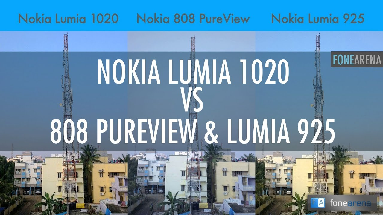 Nokia 808 Pureview vs Nokia Lumia 1020 Nokia Lumia 1020 vs 808