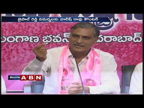 Minister Harish Rao Counter To T-Congress leader Jaipal Reddy Comments | ABN Telugu