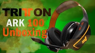 Tritton ARK 100 Gaming Headset Unboxing