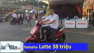 Yamaha Latte giá 38 triệu đồng có cửa đấu Honda Lead?
